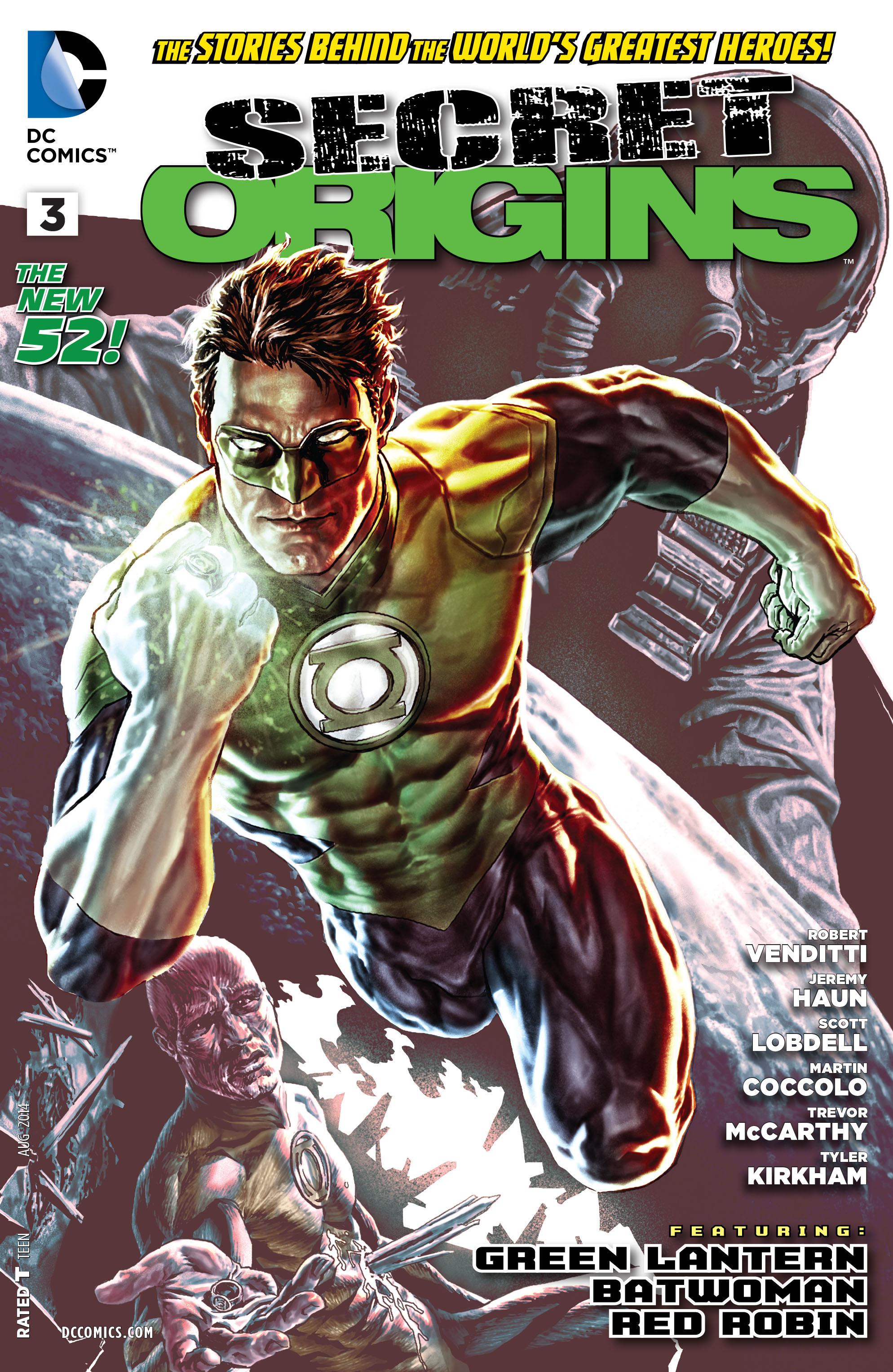 The cover of SECRET ORIGINS #3