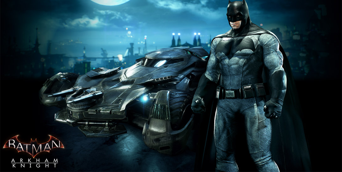 DC Comics News Arkham Knight Batman v Superman skins