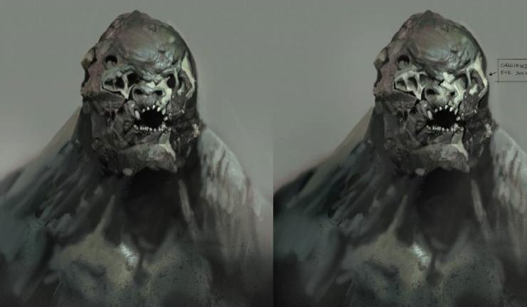 Batman V Superman Dawn Of Justice Doomsday Concept Art Revealed
