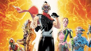 Electric Warriors #1 cover dc comics news