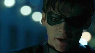 Titans TV show Robin Batman dc comics news