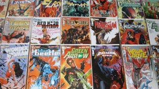 new 52 dc comics news