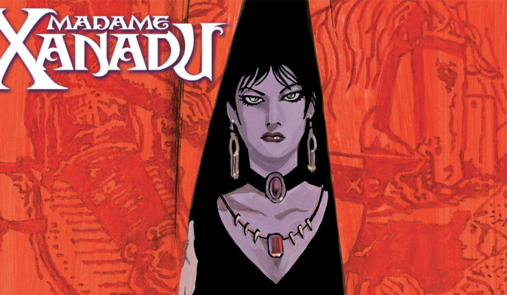swamp thing madame xanadu dc comics news