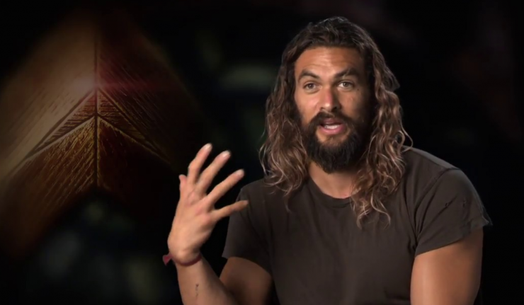 Jason Momoa wax Aquaman dc comics news