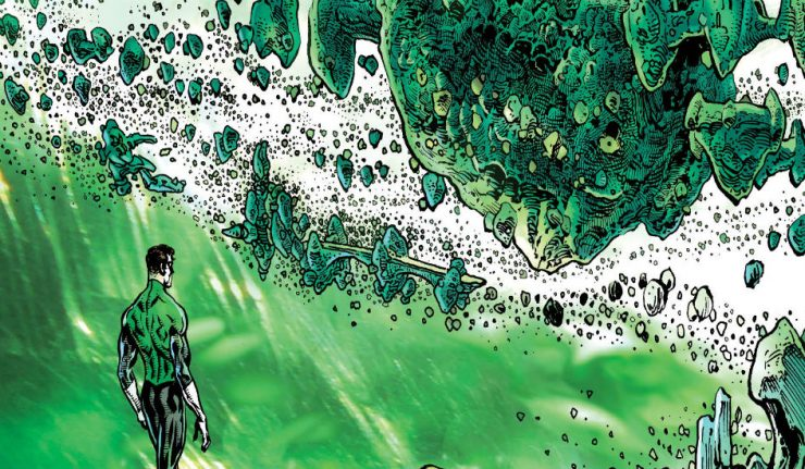 Cover to The Green Lantern #7 with Hal Jordan