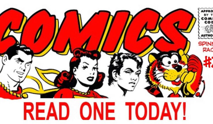 the cover photo for The Spinner Rack #7