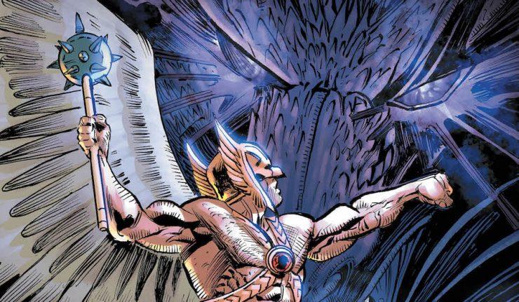 Hawkman-16-Hawk-VS-Shadow Dragon-DCComicsNews