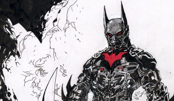Jim Lee Sketches Batman Beyond For Charity