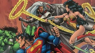 Wonder Woman-Storm-Hulk-Superman