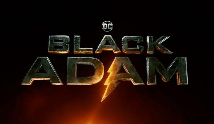 Black Adam Movie Logo