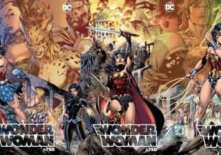 Jim Lee Wonder Woman