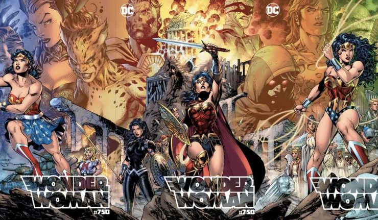 Jim Lee Wonder Woman