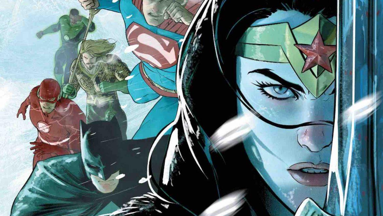 Justice League Endless Winter #1